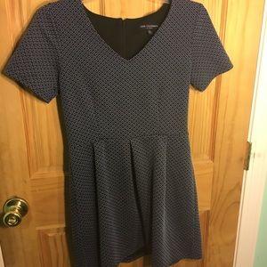 Dresses & Skirts - Blue patterned dress